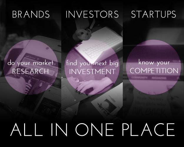 Brands, Investors, Startups